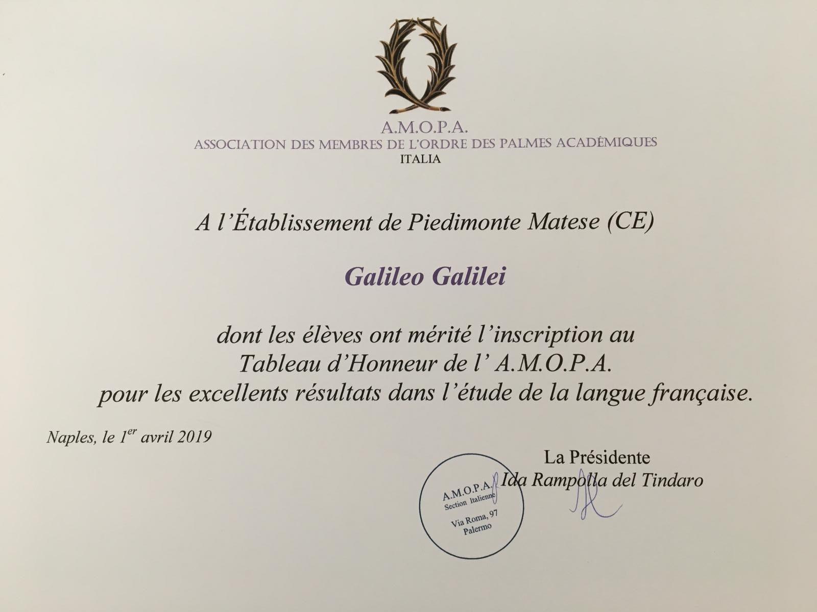 Fotogallery Conferimento Tableaux d'Honneur 2